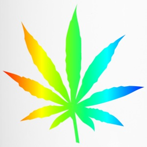 Marijuana Leaf Rainbow - Travel Mug