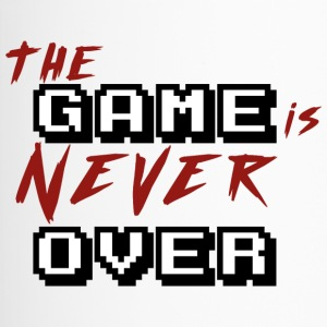 The game is never over_v2 - Mug thermos