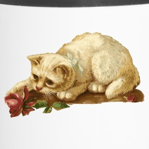 Chat avec Rose - Mug thermos