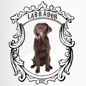 Labrador Retriever braun - this is my dog! - Thermobecher