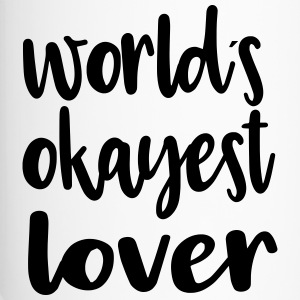 World´s okayest lover - Thermobecher