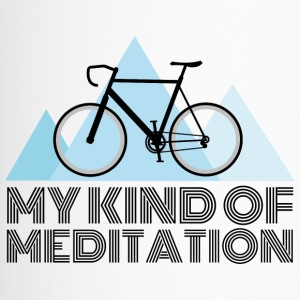 Road bike meditation - Travel Mug