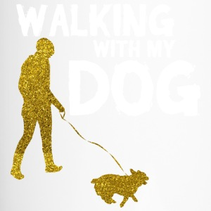 WALKING WITH MY DOG - Thermobecher