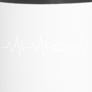 Football Heartbeat - Mug thermos