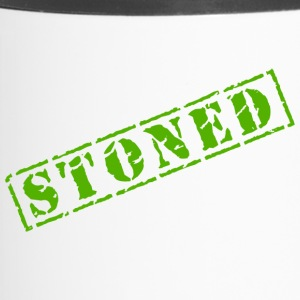Lustige Marihuana-Hanf-Weed Pot Stoned - Thermobecher