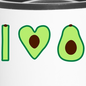 I love avocado - Travel Mug