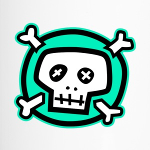 Green Calavera skull-green - Thermo mok