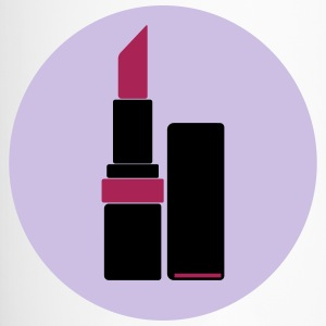 Lippenstift Vektor Logo (your color) - Thermobecher