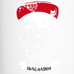 SWAG Nation refroidir Gangster Bandit Rapp rue chat - Mug thermos
