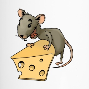 Fiese mouse rodent mouse vermin rodent cheese - Travel Mug