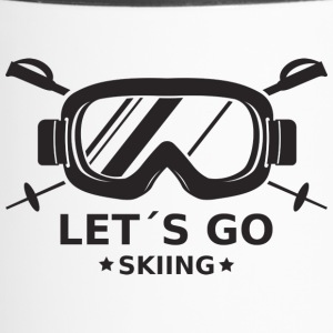 Skiing - Thermo mok