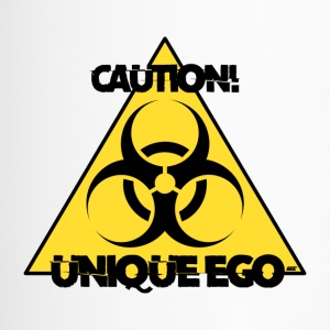 Let op! Unieke Ego - De Biohazard Edition - Thermo mok
