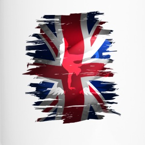 Union Jack skater Uk Flagge England London lol coo - Thermobecher