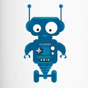 Robot cute small toy AI auto lo - Travel Mug