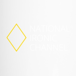 Ironisch National Channel - de Lange T-shirt - Thermo mok