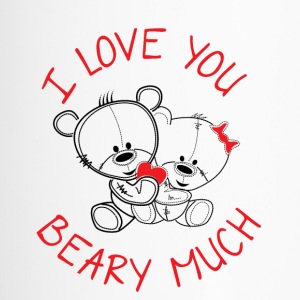 I love you beary much - Travel Mug