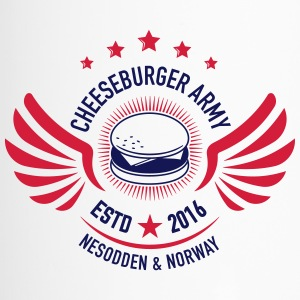 Cheeseburger Army U.S Colors - Termokopp