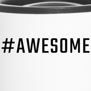 #awesome - Taza termo