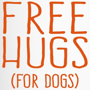 Free Hugs for dogs - Thermobecher