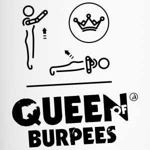 Queen of Burpees - Travel Mug