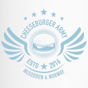 The official Cheeseburger Army logo - Termokopp