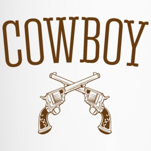 Western-Cowboy - Thermobecher