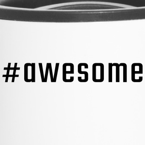 #awesome - Tazza termica