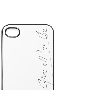 Give_all_for_the_Family_ - iPhone 4/4s Hard Case