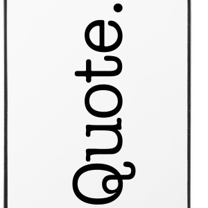 Quote. - iPhone 4/4s Hard Case