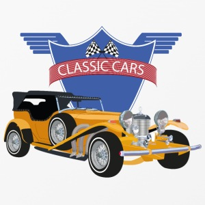 Classic Car - Custodia rigida per iPhone 4/4s