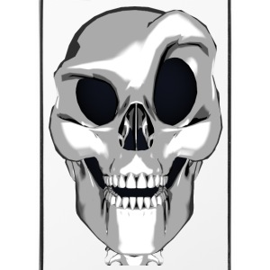 Crazy Smart Skull - iPhone 4/4s hard case