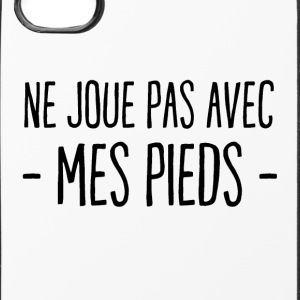 Do not play with my feet - iPhone 4/4s Hard Case