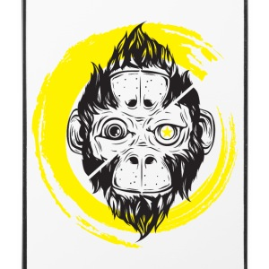 Scimmia_cambia_4 ape - iPhone 4/4s hard case