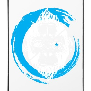 Scimmia_cambia_3 aap - iPhone 4/4s hard case