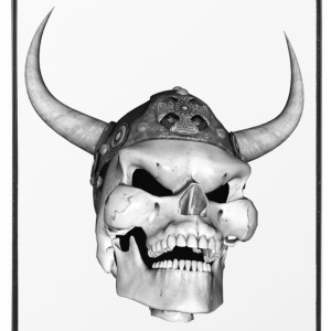 Viking Skull - Coque rigide iPhone 4/4s
