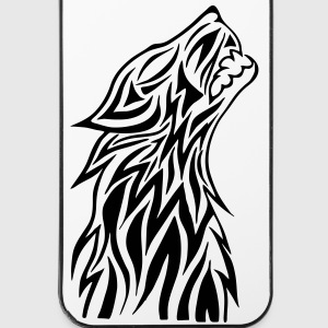 Wolf Tribal - iPhone 4/4s Hard Case