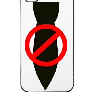 Verbot der Krawatte - iPhone 4/4s Hard Case