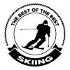 Skiing - Koszulka męska Premium