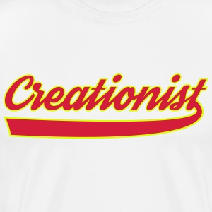 creationist - Men's Premium T-Shirt