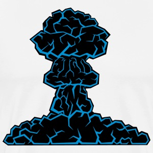 mushroom cloud - Men's Premium T-Shirt