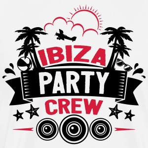 Crew Party Ibiza - T-shirt Premium Homme