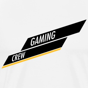Gaming Crew bar Ontwerp - Mannen Premium T-shirt