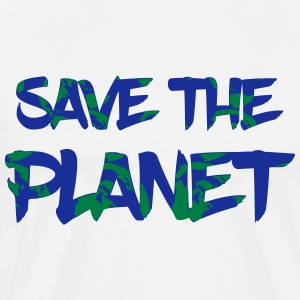Save the Planet - redde jorden - Herre premium T-shirt