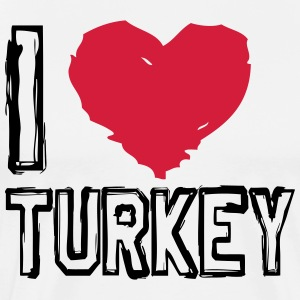I LOVE TURKEY! - Männer Premium T-Shirt