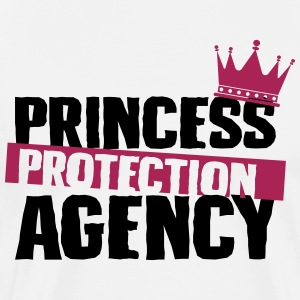 Prinsesse Protection Agency - far - Herre premium T-shirt