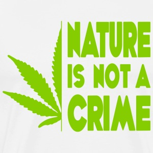 nature is not a crime - Men's Premium T-Shirt