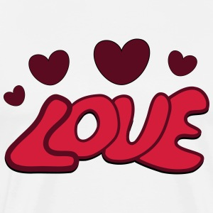Love Valentine - Men's Premium T-Shirt