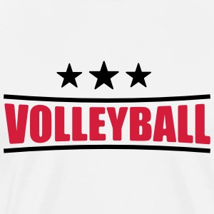 Volleyball shirt - Beachvolleyball shirt - Team - Men's Premium T-Shirt