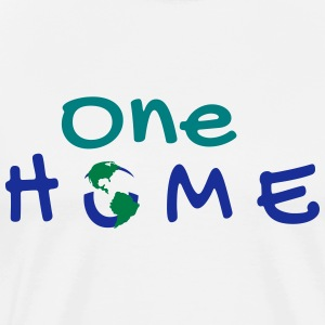 One Home | A World Design - T-shirt Premium Homme