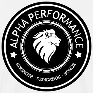 ALPHA PERFORMANCE - Men's Premium T-Shirt